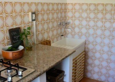 Keuken appartement Fico