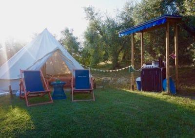 Bell-tent olijfgaard