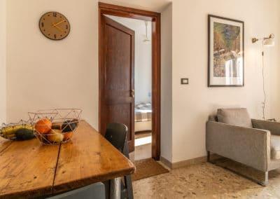 Appartement Oliva - woonkamer