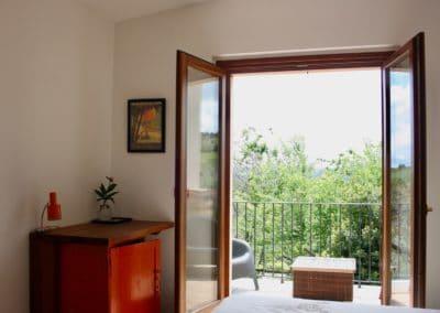 Ruim balkon bed & breakfast kamer